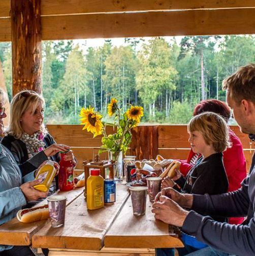 Mat glasrikets älgpark