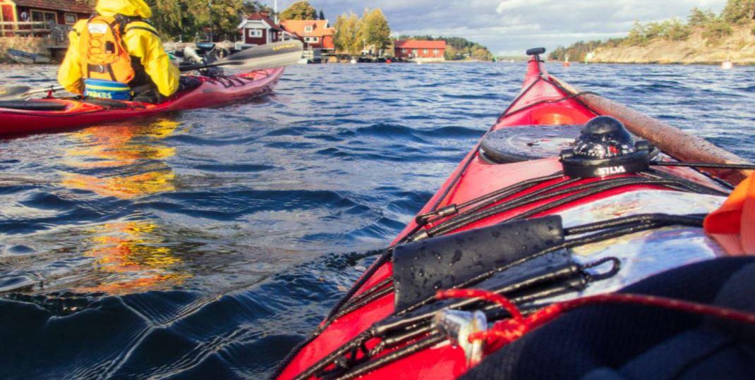 Vinterkajak Vaxholm